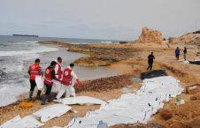 غرق 226x145 - آغاز روند انتقال اجساد مهاجرین غرق شده افغان در ترکیه به افغانستان