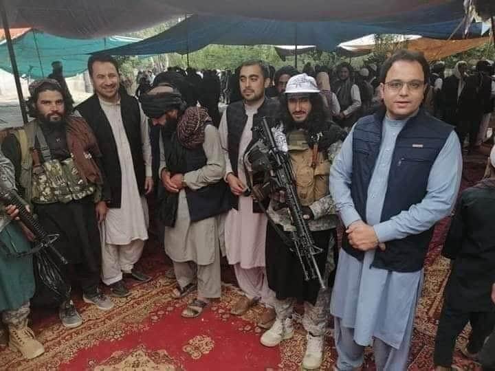 فیض زلاند 3 - تصاویر/ استاد پوهنتون کابل به طالبان پیوست!