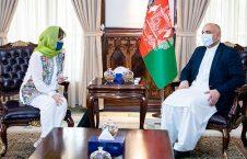 محمد حنیف اتمر دبورا لیونز1 226x145 - دیدار سرپرست وزارت امور خارجه با نماینده خاص سر منشی سازمان ملل برای افغانستان