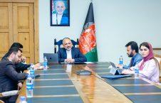 محمد حنیف اتمر 1 226x145 - گفتگوی سرپرست وزارت امور خارجه با شارژدافیر سفارت امریكا مقیم کابل