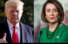 نانسی پلوسی دونالد ترمپ 226x145 - انتقاد نانسی پلوسی از سیاست های ضد کرونایی دونالد ترمپ