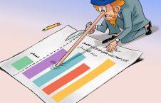 کاریکاتور/ امریکا با نشر آمار جمعیت هزارهها چی هدفی دارد؟