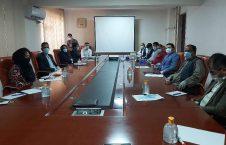 برگزاری ورکشاپ چگونگی مبارزه با استرس کرونا برای کارمندان وزارت مهاجرین و عودت کننده گان