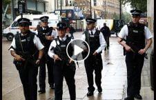 ویدیو/ وحشی گری پولیس بریتانیا