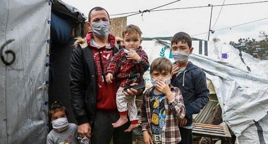 پناهجو کرونا 550x295 - شیوع کرونا در بین پناهجویان افغان در اروپا