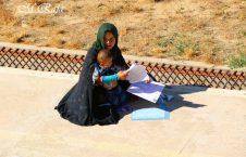 کانکور دایکندی 226x145 - تصویر/ اشتراک مادر جوان در آزمون کانکور