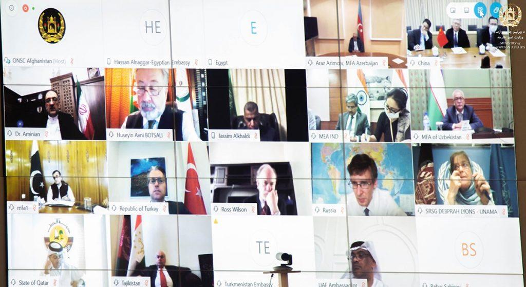 کنفرانس تقویت اجماع برای صلح 1024x559 - اشتراک نماینده گان 20 کشور در کنفرانس منطقوی تقویت اجماع برای صلح افغانستان
