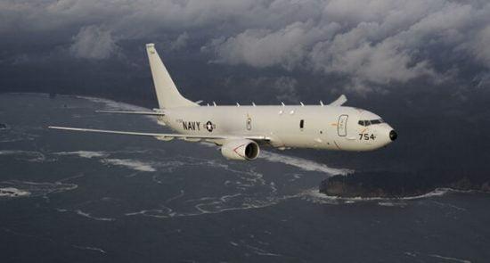 P 8A 550x295 - شناسایی طیاره جاسوسی امریکا در نزدیکی آبهای روسیه