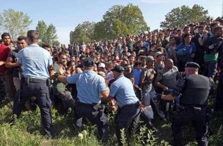 اسلوونی پناهجو - بازداشت ۲۵۷ پناهجوی غیرقانونی در سرحدات اسلوونی