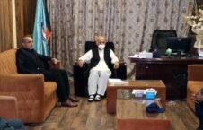 اشرف غنی حوزه پنج امنیتی 226x145 - بازدید سرقوماندان اعلی قوای مسلح کشور از حوزه پنج امنیتی کابل