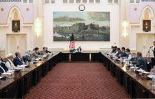دیدار رییس جمهور غنی با هیات مذاکره کننده دولت جمهوری اسلامی افغانستان