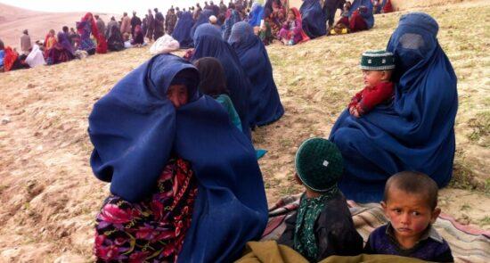 بیجا  550x295 - بیجا شدن هزاران خانواده در نتیجه جنگهای اخیر در کندز