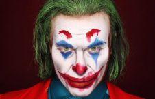 تغییرچهره جوکر 226x145 - هنرمندی که در تغییردادن چهره استاد است + تصاویر