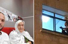 جهاد السویطی 1 226x145 - حرکت زیبای پسر وفادار فلسطینی سوژه رسانههای جهان شد + تصاویر