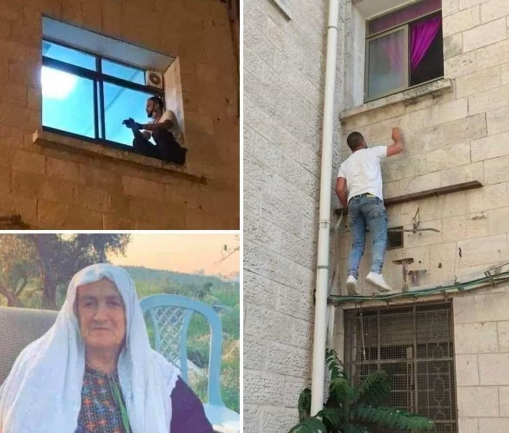 جهاد السویطی 3 1024x870 - حرکت زیبای پسر وفادار فلسطینی سوژه رسانههای جهان شد + تصاویر