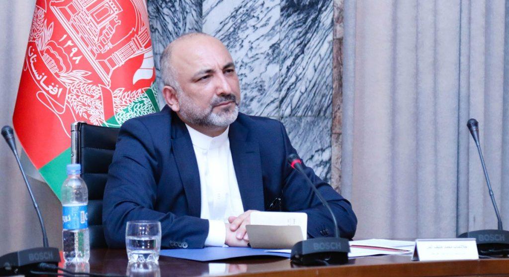حنیف اتمر 1024x559 - افزایش حمایت های جهانی از روند صلح افغانستان و برگزاری لویه جرگه
