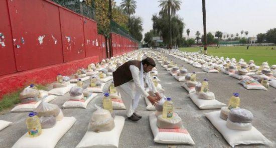 دسترخوان ملی 550x295 - زمان آغاز برنامه دسترخوان ملی در افغانستان اعلام شد
