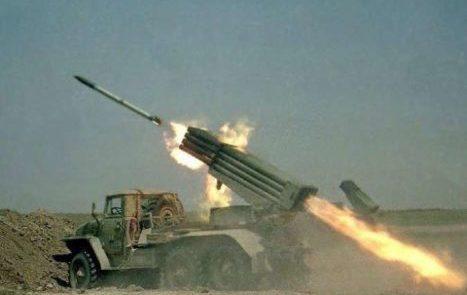 راکت 467x295 - سفارت امریکا در پایتخت عراق هدف حمله راکتی قرار گرفت