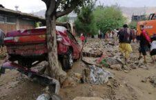 سیلاب پروان 3 226x145 - مساعدت مالی با صدها خانواده آسیب دیده از سیلاب در ولایت پروان
