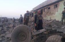 طالبان غزنی 1 226x145 - تصاویر/ خسارات به جا مانده از حمله طالبان بر ولسوالی دهیک غزنی
