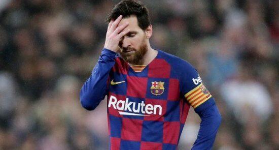 لیونل مسی 550x295 - بارسلونا در شوک وداع لیونل مسی