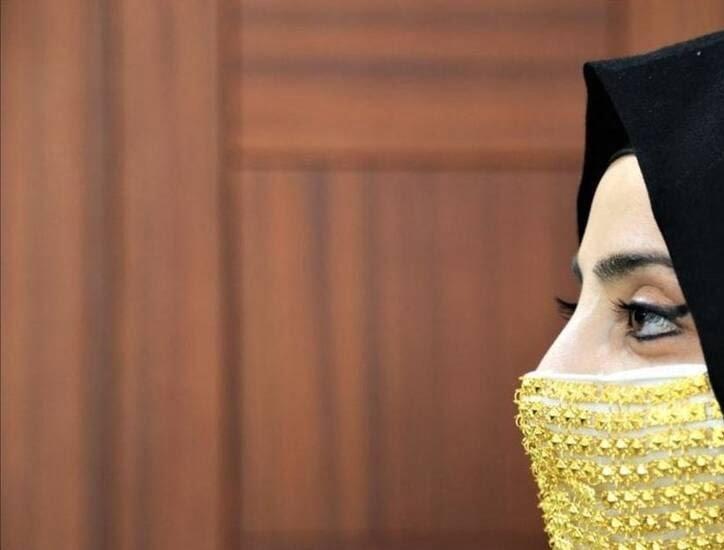 ساخت ماسک طلا برای عروس ها در ترکیه + تصاویر