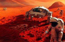 مریخ 226x145 - محل زنده گی بیگانهگان فضایی در مریخ کشف شد! + تصاویر