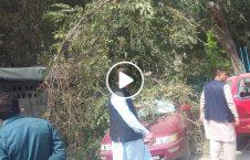 ویدیو انفجار راکت منازل کابل 226x145 - ویدیو/ انفجار در نتیجه فرود آمدن راکت ها بالای منازل مسکونی در کابل