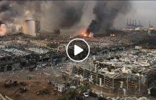 ویدیو تصاویر هولناک انفجار 226x145 - ویدیو/ تصاویری هولناک از آثار انفجار شدید بیروت