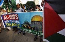 پاکستان اسراییل 5 226x145 - تصاویر/ واکنش پاکستانی ها به توافق عادیسازی روابط امارات و اسراییل