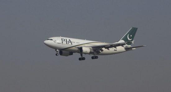پاکستان طیاره 550x295 - اعلامیه وزارت ترانسپورت و هوانوردی طالبان درباره تنظیم قیمت تکتهای کابل - اسلام آباد