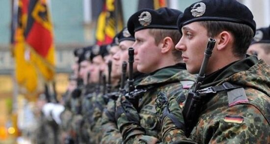 جرمنی عسکر 550x295 - حضور قوای نظامی جرمنی در افغانستان تمدید شد