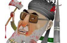 حکمتیار2 226x145 - کاریکاتور/ عامل راه اندازی جنگ قومی مذهبی در افغانستان