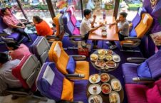 رستورانت تایلند 2 226x145 - تصاویر/ افتتاح رستورانتی به سبک طیاره در تایلند