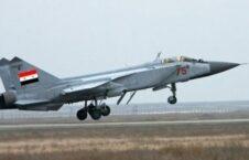 سوریه طیاره جنگی 226x145 - حمله هوای اردوی ملی سوریه بالای مواضع تروریست ها در ولایت ادلب