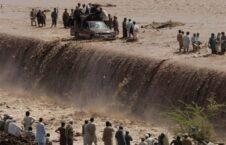 سیلاب پاکستان 3 226x145 - تصاویر/ جاری شدن سیلاب های مرگبار در پاکستان جان 40 تن را گرفت