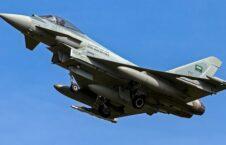 عربستان طیاره جنگی 226x145 - حمله هوایی طیارات جنگی عربستان سعودی به ولایت مأرب یمن