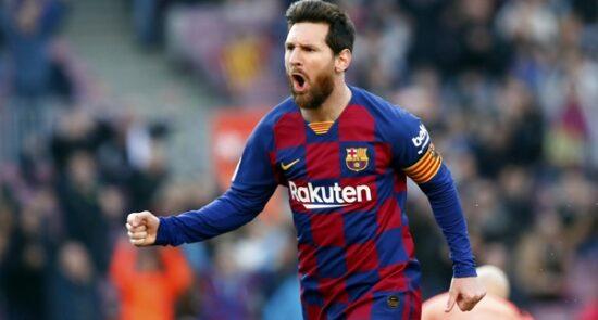 لیونل مسی 1 550x295 - پیام لیونل مسی پس از رسیدن به عنوان بیشترین بازی برای باشگاه بارسلونا