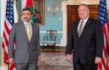 مایک پومپیو عبدالله بن زائد آل نهیان 226x145 - دیدار وزرای امور خارجه ایالات متحده امریکا و امارات متحده عربی