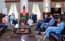 محمد حنیف اتمر آلیسون بلیک 226x145 - دیدار سرپرست وزارت امور خارجه با سفیر بریتانیا در کابل
