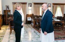 محمد حنیف اتمر ویگرس گاسیلیا تیودورا ماریا 1 226x145 - دیدار سرپرست وزارت امور خارجه با سفیر هالند در افغانستان + تصاویر