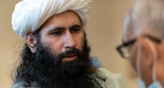 محمد نعیم 550x295 - مذاکره طالبان با خارجی ها بر سر منابع مالی افغانستان!