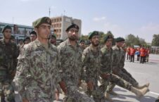 مراسم فراغت عساکر 2 226x145 - تصاویر/ مراسم فراغت ۱۰۰۰ عسکر از مرکز تعلیمی نظامی کابل