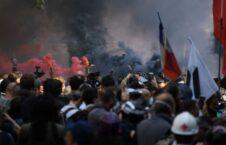 معترضان فرانسوی 3 226x145 - تصاویر/ بازگشت معترضان فرانسوی به سرک ها