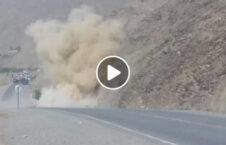 ویدیو انفجار بم کنار جاده اردوی ملی 226x145 - ویدیو/ انفجار بم کنار جاده ای توسط نیروهای اردوی ملی