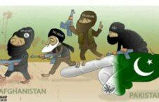 پاکستان تروریزم 226x145 - کاریکاتور/ اشتباه کلان حکومت در مذاکرات!