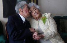 پیرترین زوج 226x145 - راز زنده گی موفقِ پیرترین زوج دنیا