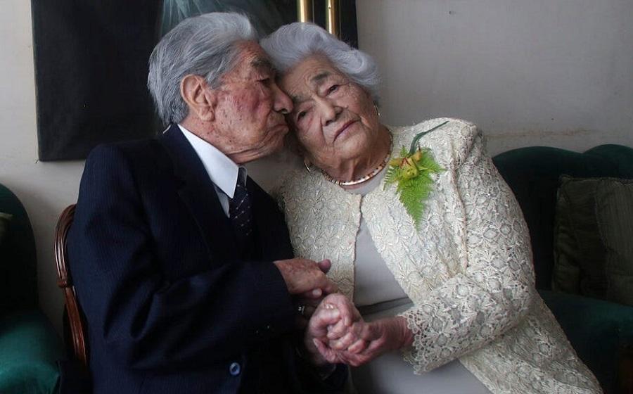 راز زنده گی موفقِ پیرترین زوج دنیا