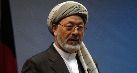 کریم خلیلی 550x295 - انتقاد محمد کریم خلیلی از لشکرکشی حکومت به بهسود