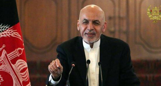اشرف غنی 3 550x295 - اطمیناندهی رییس جمهور غنی به باشنده گان افغانستان برای حفظ جمهوریت